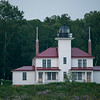 Duplex lighthouse on Raspberry Island