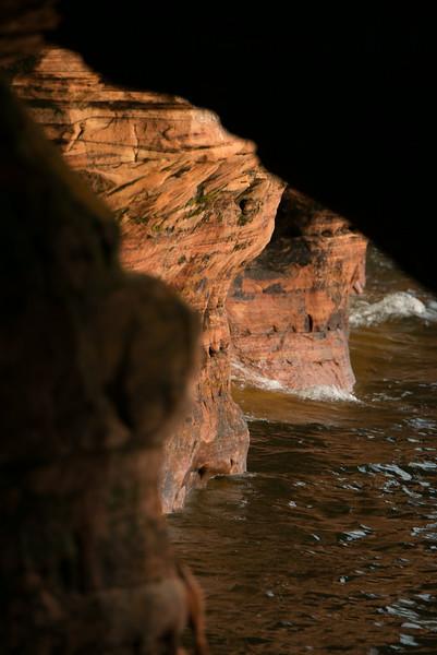 Bayfield Penninsula Sea Caves