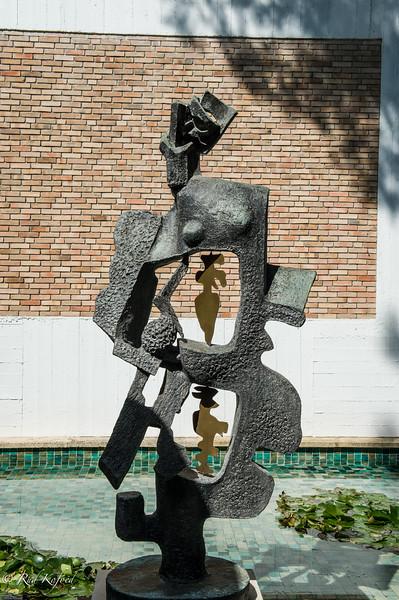 STATUE POUR UN JARDIN (1965) - AF OSSIP ZADKINE
