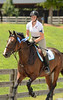 Samantha Hay and Tre' Jolie 1st Place Training rider A (second week)