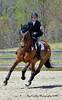 Jenny Tucker and Guinness X 1st Novice Rider
