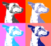 chloe pop art by dave