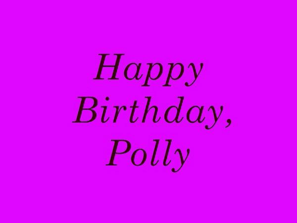 Polly birthday Movie