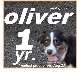Aug.27, first pic of Oliver