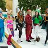 Navi, Princess Zelda, Ganondorf, Link, Tingle, and Midna