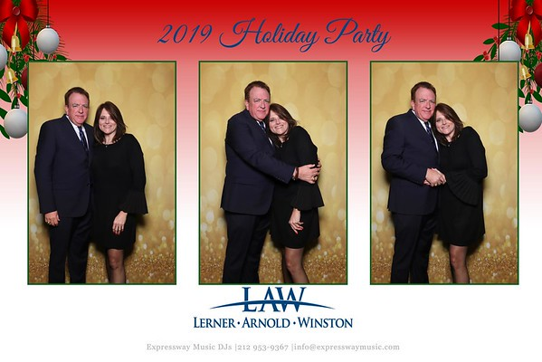 Lerner, Arnold & Winston, LLP Holiday Party (12/12/19)