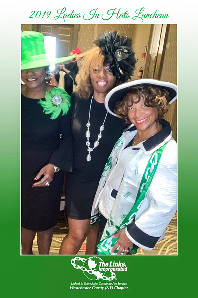 """Links Westchester (NY) Chapter """"Ladies In Hats Luncheon"""" (10/19/19)"""