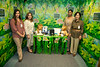 """The Diabetes Center participated in the Open House for MAGNET recognition in Holy Name Medical Center by creating an educational room called """"Finding Your Way Through The Diabetes Jungle"""" at HNMC. 7/24/14  Photo by Jeff Rhode /Holy Name Medical Center"""