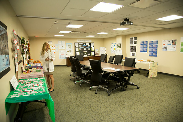 """The Villa Marie Claire participated in the Open House for MAGNET recognition in Holy Name Medical Center by creating a """"Four Seasons"""" theme on the floor.  7/31/14. Photo by Victoria Matthews/Holy Name Medical Center."""