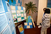 """The ICUparticipated in the Open House for MAGNET recognition in Holy Name Medical Center by creating an educational """"Beach"""" themed room at HNMC. 8/1/14  Photo by Jeff Rhode /Holy Name Medical Center"""