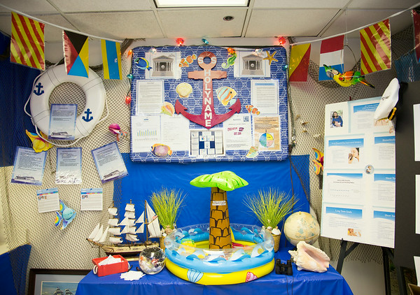 """The Medical Clinic participated in the Open House for MAGNET recognition in Holy Name Medical Center by creating a """"SS Holy Name"""" themed room at HNMC. 7/30/14  Photo by Victoria Matthews/Holy Name Medical Center"""