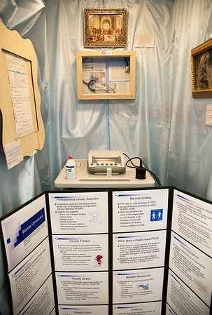 "Same Day Surgery participated in the Open House for MAGNET recognition in Holy Name Medical Center by creating a ""Metropolitan Museum of Art"" themed room at HNMC. 7/29/14  Photo by Victoria Matthews/Holy Name Medical Center"