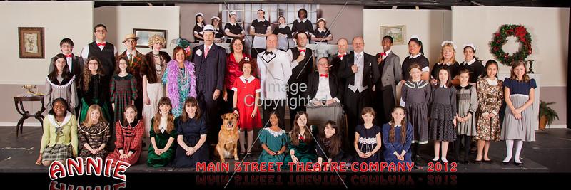 ANNIE! Main Street Theatre.