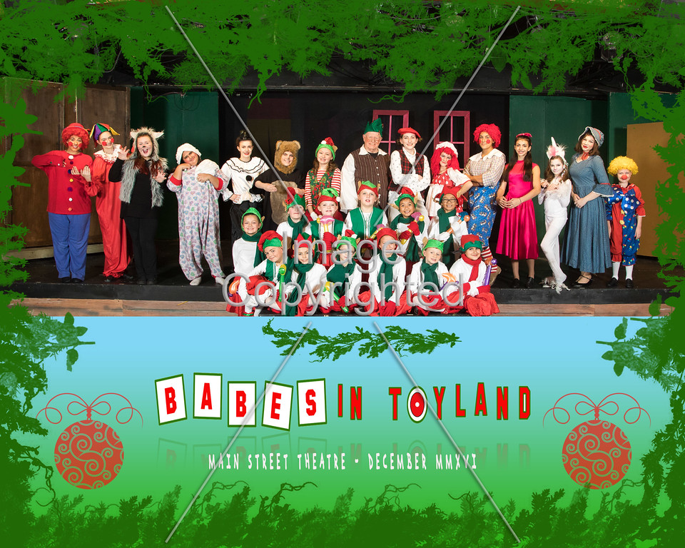 8X10 toys and elves