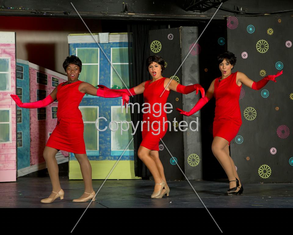 8x10 3 red ladies GDVH4192
