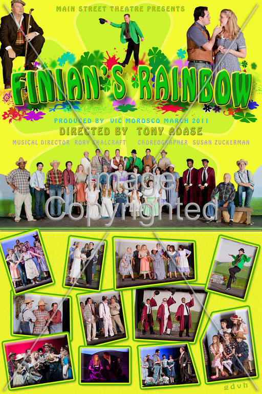12x18  FINIAN's POSTER