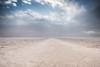 Desert trail.  Death Valley