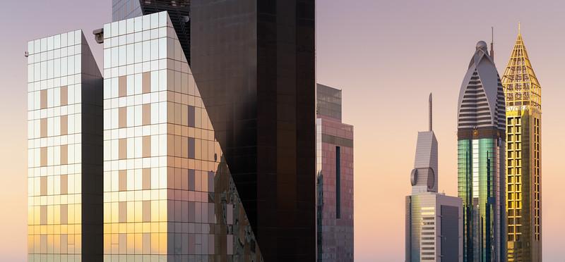 Skyscrapers - Dubai.