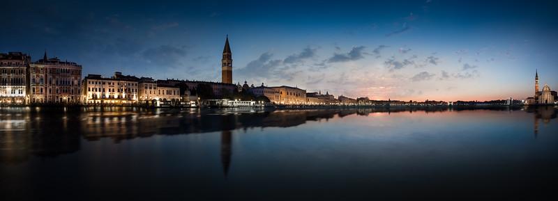 Sunrise. Venice