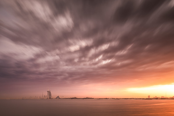Sky over Dubai