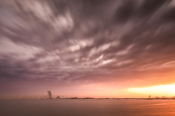 Sky over Dubai