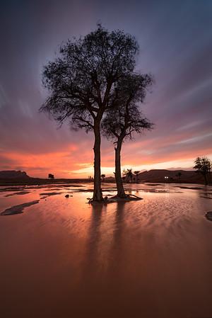 Maleha sunset