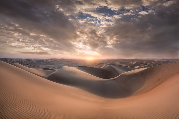 Sunset - Empty Quarter