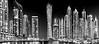 """Cayan """"twisted""""  Tower. Dubai Marina."""