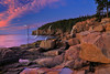 Otter Cliff at Sunrise, The Ocean Trail, Acadia National Park, Maine, USA