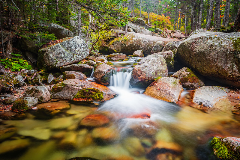 Small Falls on Katahdin Stream