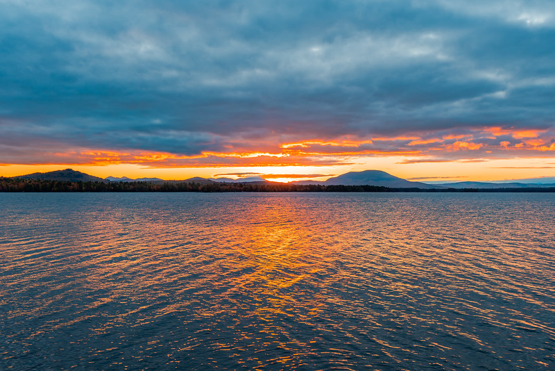 South Twin Lake Sunset