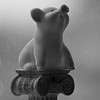 Piggy on a pedestal