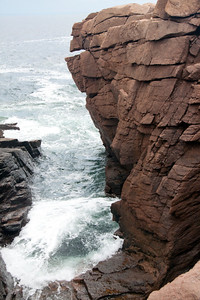 Thunder Hole, Acadia National Park, Mount Desert Island, Maine, September