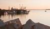 sardine boats, Rockland Harbor sunrise, Maine, sunrise