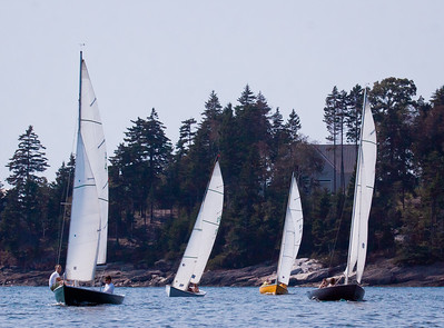 Sailing race Small Point Sailing Club, The Commodore's Race Phippsburg Maine