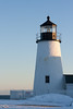 Pemaquid Lighthouse In Winter