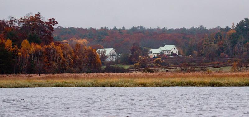 On The Sasanoa River In Fall