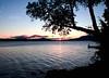 Sunrise over Mount Kineo across Moosehead Lake looking from Rockwood, Maine, September