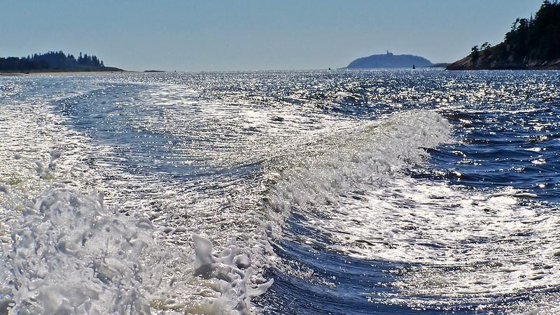 Seguin Island In The Wake