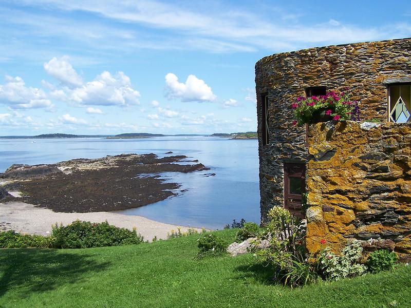 Admiral Peary's Eagle Island Maine