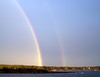 Double Rainbow Over Small Point