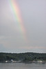 Rainbow over Small Point Harbor, Phippsburg Maine scenic