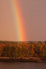 Rainbow With Fall Foliage