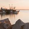 Sardine boats, Rockland Harbor, sunrise, Rockland Maine