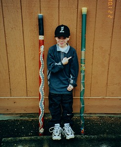 Jake Home Made Didgeridoo - Issaquah WA