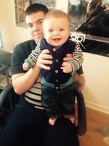 Jake and Gavin - December 2014