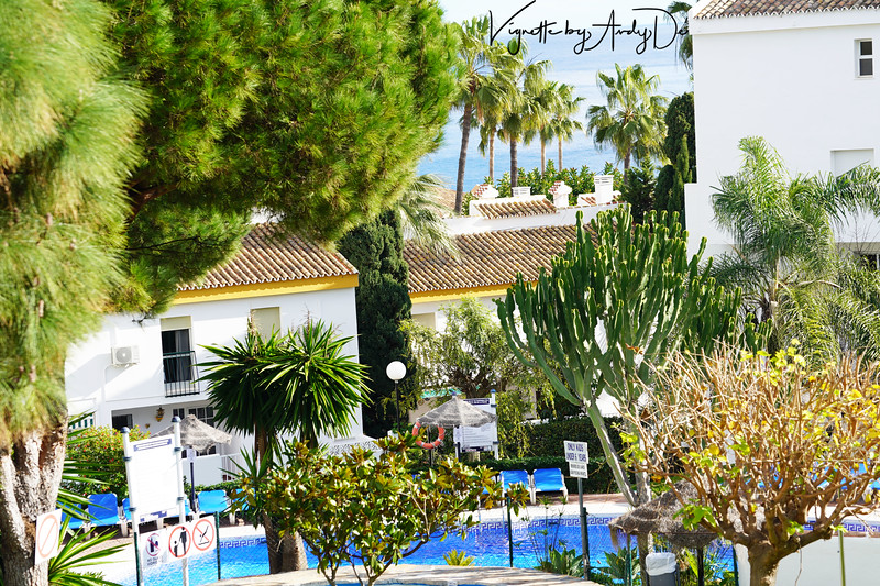 We were extremely fortunate to have stayed in our luxury resort in MIJAS COSTA, down the road from MALAGA, and truly enjoyed the unspeakably beautiful vistas of the beaches and the coast from our Suite!