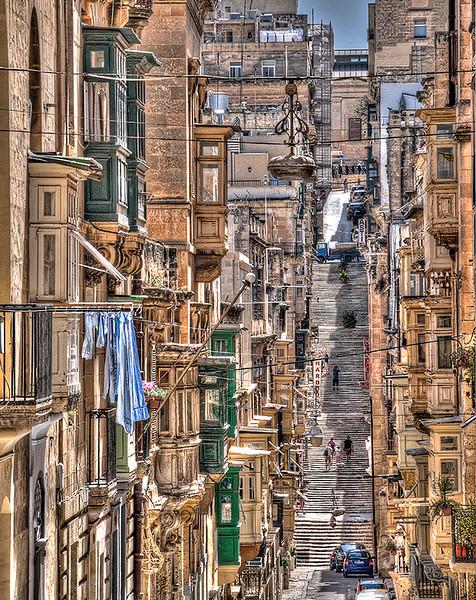 Downtown Valleta