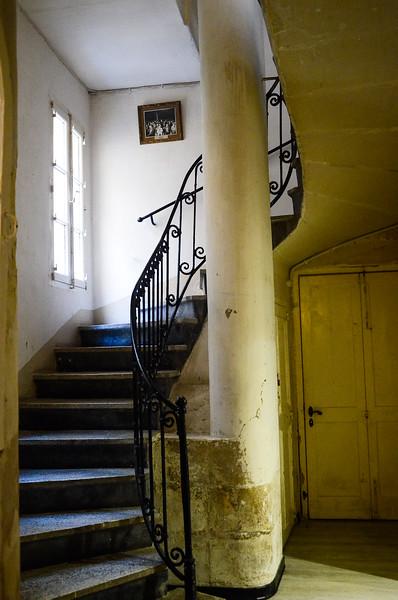 Stairwell in Città Vittoriosa