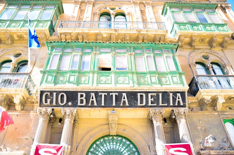 Gio Batta Delia on Triq Repubblika<br /> Valletta